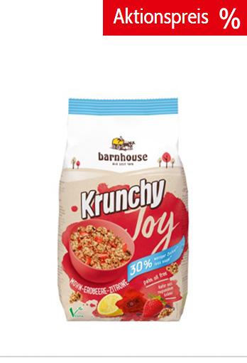 Bio-Krunchy Joy Mohn-Erdbeere