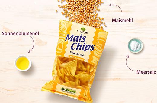 Alnatura Mais-Chips Natur