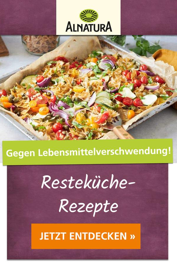 Resteküche-Rezepte vom Feinsten